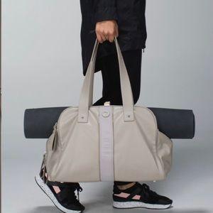 Lululemon Two Times A Yogi Bag Storm Grey